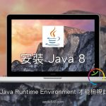 必須安裝 Java Runtime Environment